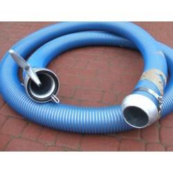 Wąż ssawny typ AGRO DN 110 zakuty w złącza PERROT - 10m
